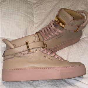 Authentic Buscemi Pale pink sneakers
